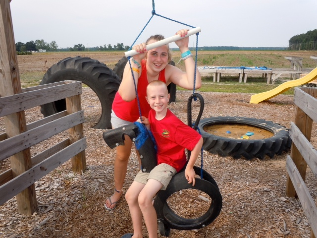 Tire Swings!